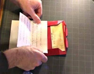 Оригами конверт схема складывания