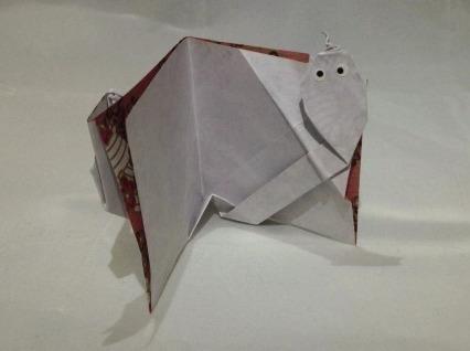Оригами открытка видео сборка от Jeremy Shafer