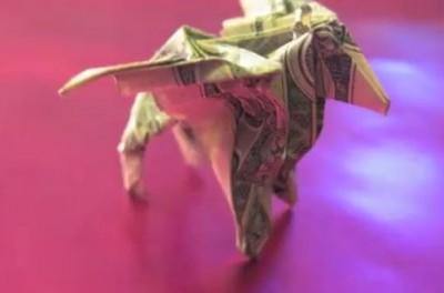 Оригами пегас схема сборки