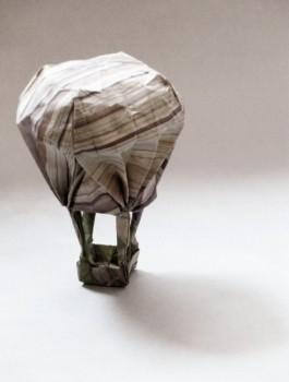 Оригами шар из бумаги