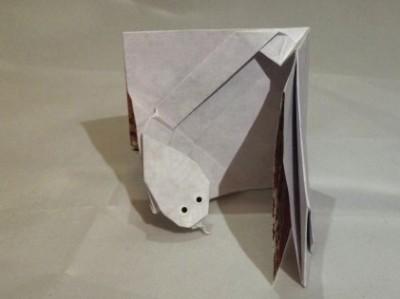 Открытка оригами схема сборки