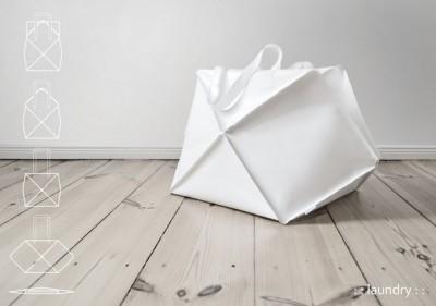 Сумочки Omni выполнены в технике оригами