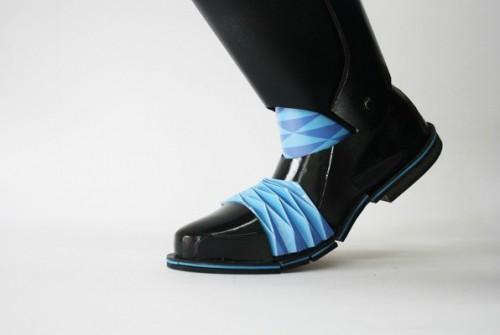 Уникальная обувь-оригами Горацио Юйсинь Хан