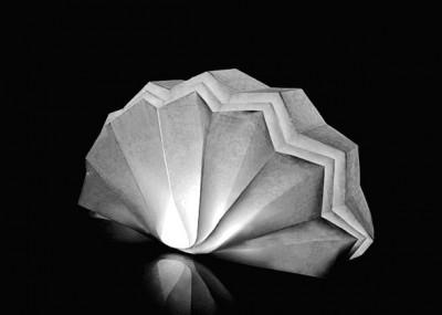 Бумажные светильники оригами