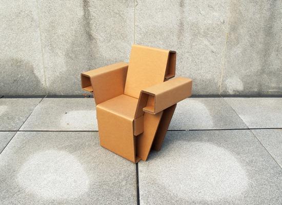 Chairigami - мебель оригами