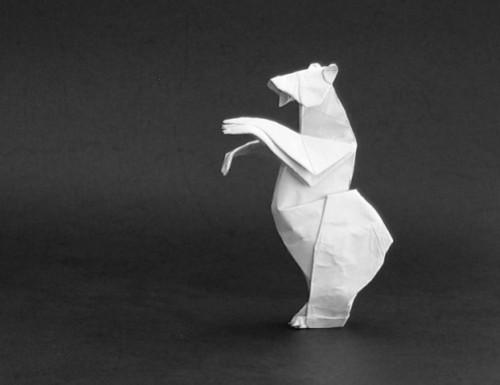 Как сложить оригами Медвежонок Гризли