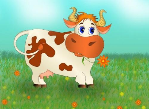 Корова оригами детальная схема сборки