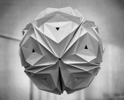 Лампы оригами от Jiangmei Wu
