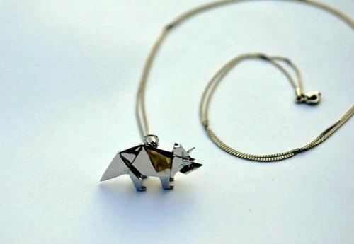 Origami Jewellery украшения оригами