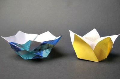 Оригами лотос видео