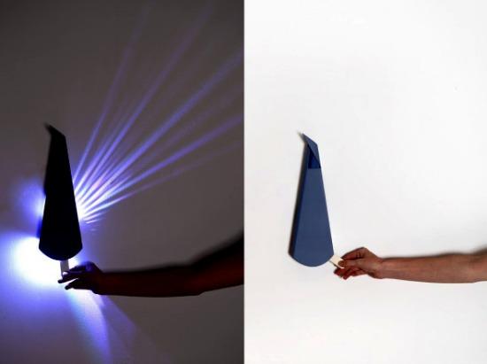 Pop Up lighting - ночники оригами