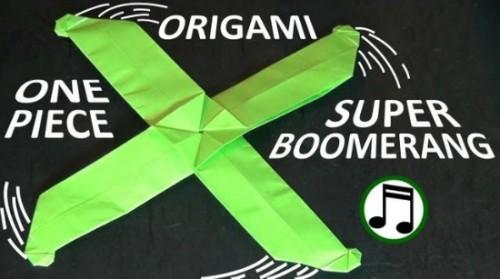Как сделать двойной оригами бумеранг от Jeremy Shafer