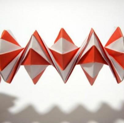 Как сделать оригами из бумаги спираль