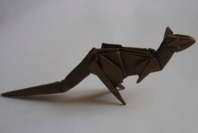 Кенгуру оригами