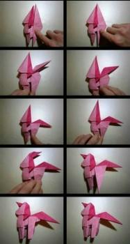 Мастер - класс по сборке лошадка оригами