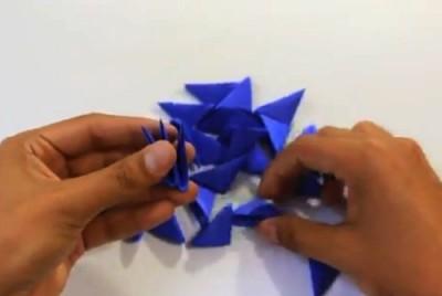 Миньон оригами схема сборки модулей
