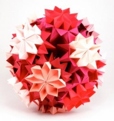 Модульное оригами кусудама