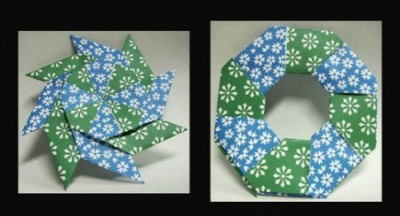 Оригами Star Ring по схеме Robert Neale