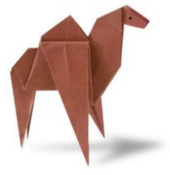 Простое оригами Верблюд видео