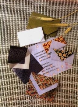 Простой конверт оригами. Cхема для новичков