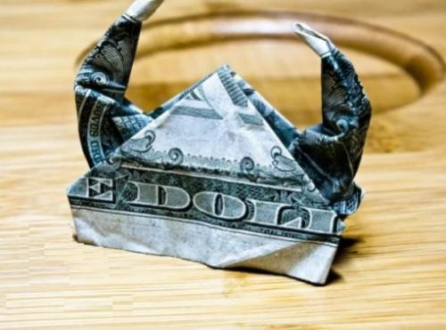 Шлем викинга из доллара
