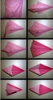 Схема сборки лошадка оригами