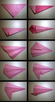Схема сборки лошадки оригами