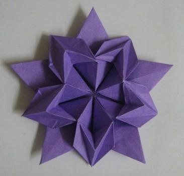 Как делать оригами цветок сакуры схема сборки David Martinez