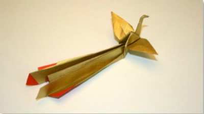 Как сделать оригами птицу Феникс