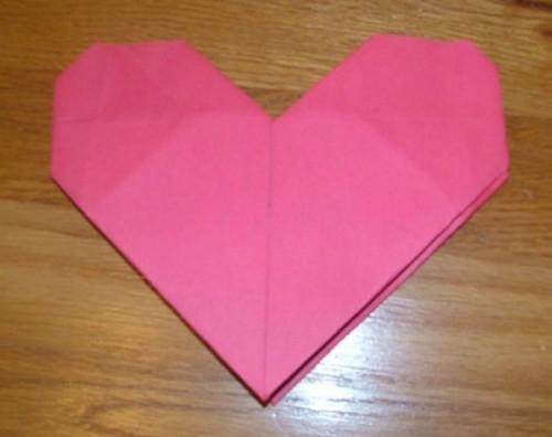 Как сделать сердце оригами из бумаги
