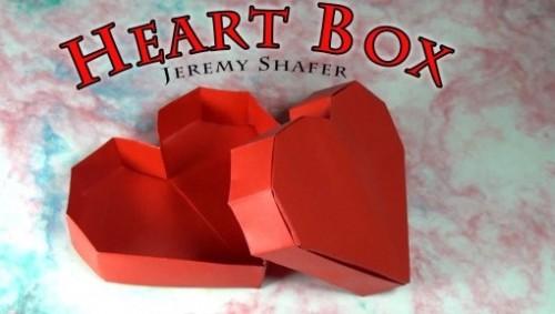Коробочка оригами сердечко от Jeremy Shafer