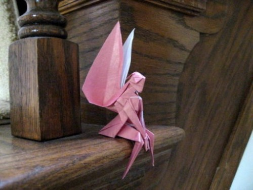 Красивое оригами - Фея за схемой Yoshihisa Kimura