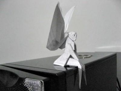 Красивые оригами из бумаги Фея мастер-класс от Yoshihisa Kimura