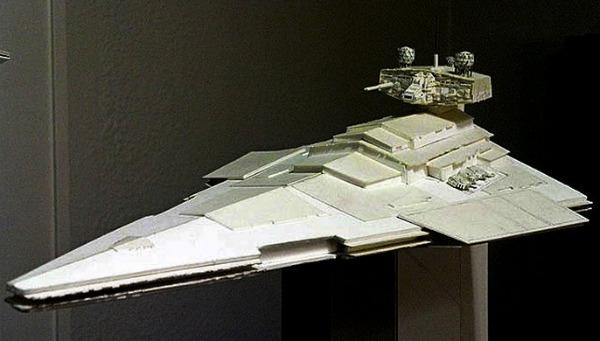 Крохотные оригами скульптуры Звездные войны