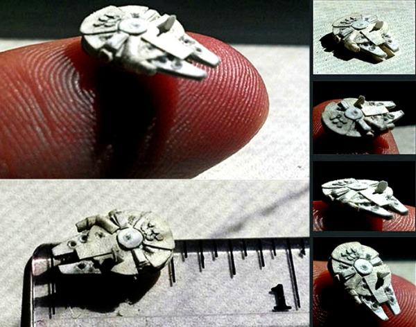 Маленькие поделки оригами Звездные войны от David Canavese