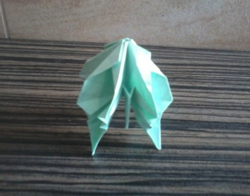 Медуза оригами из бумаги сложные видео урок