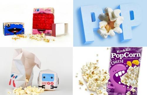 Обозрение оригинальных упаковок оригами для попкорна