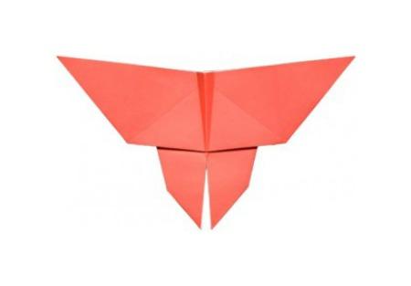 Оригами бабочка видео урок по сборке