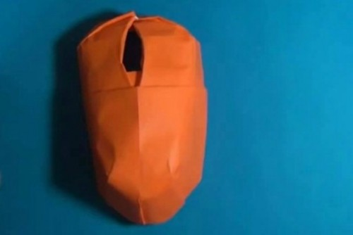 Оригами из бумаги своими руками компьютерная мышь