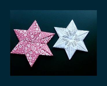 Оригами как сделать звездочку шестиконечную