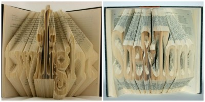 Оригами книги от Исаака Салазара