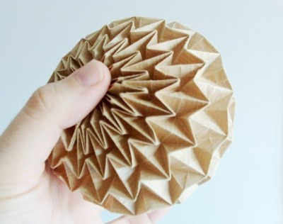 Оригами шары схемы
