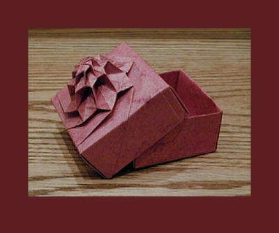 Поделки оригами цветок «Flower Tower»