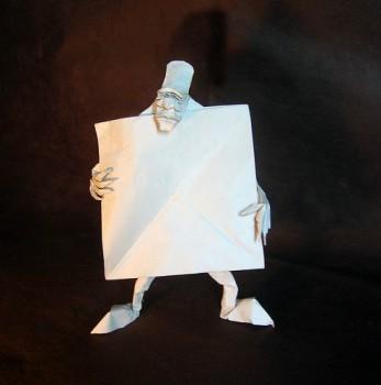 Self made man схема сборки от Eric Joisel