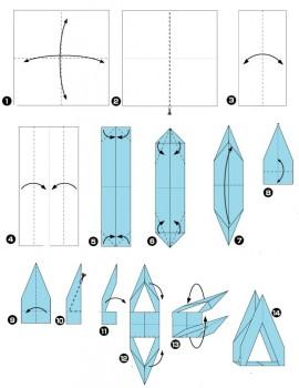 Схема сборки стойки