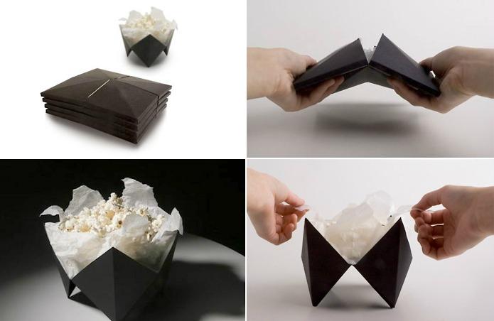 Тара для попкорна от дизайнера Anni Nykanen