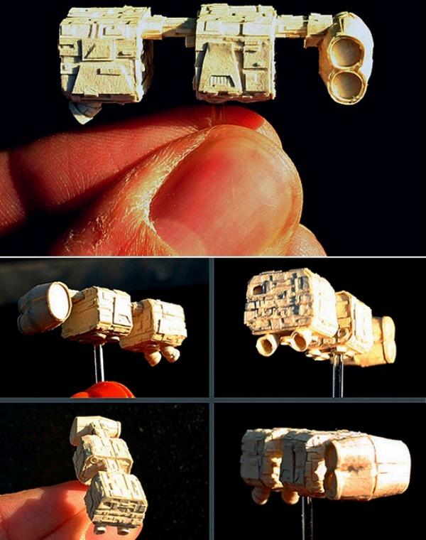 Звездные войны в миниатюре от David Canavese