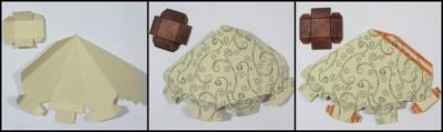 Как сделать коробочку оригами схема складывания