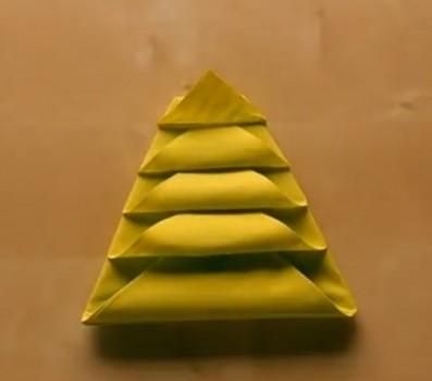 Как сделать оригами из салфеток мастер-класс
