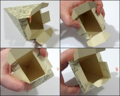 Коробочка своими руками схема сборки